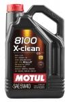 Масло моторное MOTUL 8100 X-CLEAN 5W-40 dexos2 5L