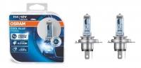 Лампа галогенная (автолампа) Osram Cool Blue Intense +20% H4 12V 60/55W 4200K (2 шт)  64193CBI-HCB