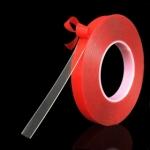 Двусторонняя прозрачная силиконовая клейкая лента 5мм (скотч) для автомобиля