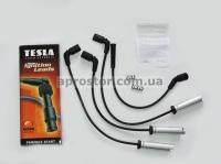 Провода высокого напряжения силиконовые Ланос, Авео 1,5 SOHC (TESLA) 96305387/T738B