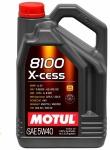 Масло моторное MOTUL 8100 X-CESS SAE 5w40 4L